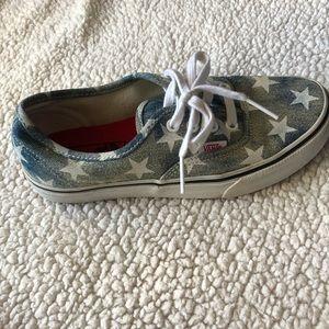 Vans Shoes - VANS DENIM WITH STARS